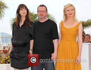 Charlotte Gainsbourg, Kirsten Dunst and Lars Von Trier