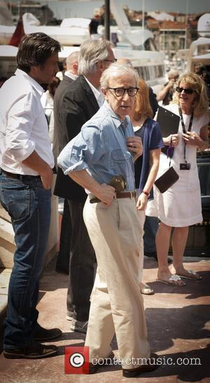 Woody Allen 2011 Cannes International Film Festival - Day 1 - Midnight In Paris - Photocall - Outside Arrivals...