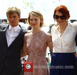 Henry Hopper, Bryce Dallas Howard and Mia Wasikowska