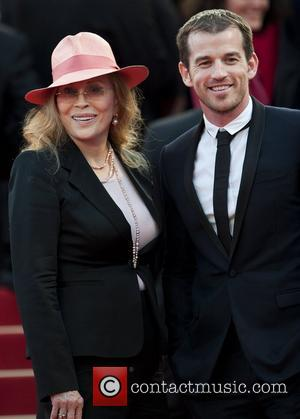 Faye Dunaway and Liam O'Neill  2011 Cannes International Film Festival - Day 7 - The Beaver - Premiere...