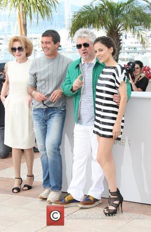 Antonio Banderas, Elena Anaya, Marisa Paredes and Pedro Almodovar