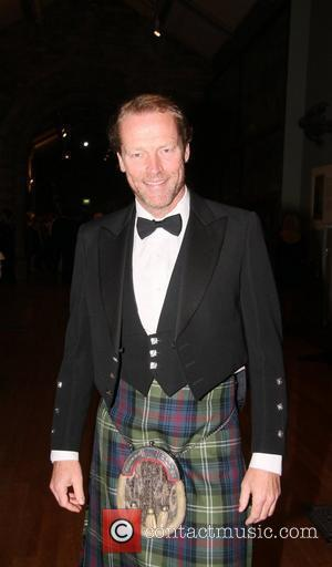 IAIN GLEN Chain of Hope's Annual Gala 2011, held at the Natural Hisotry Museum London, England - 10.11.11