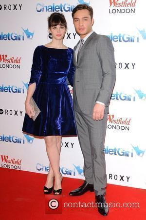 Felicity Jones and Ed Westwick UK Film Premiere of 'Chalet Girl' at Vue Westfield. London, England - 08.02.11