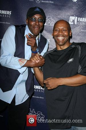 Arsenio Hall and Kevin Eubanks