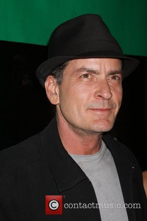 Charlie Sheen hosts an evening at Chateau Club and Gardens inside the Paris Hotel and Casino  Las Vegas, Nevada...
