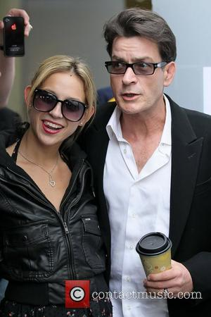 Natty and Charlie Sheen