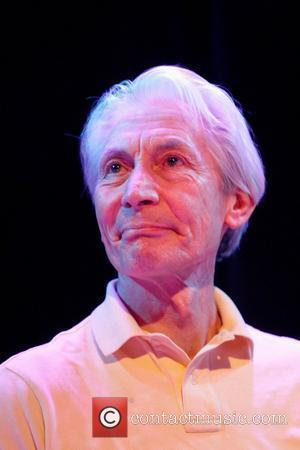 Rolling Stones drummer Charlie Watts on tour with Ben Waters performing at The Brook Southampton, England - 17.03.11