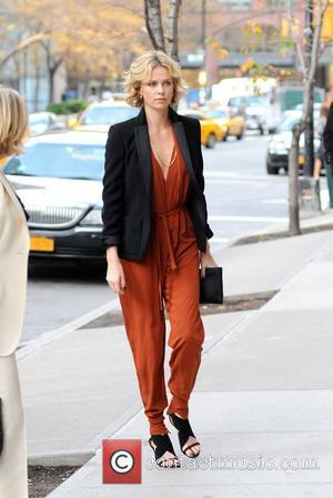 Charlize Theron and Manhattan Hotel