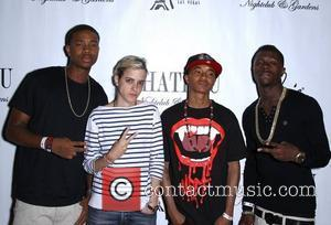 Dj Samantha Ronson and Cali Swag District