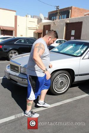 Chaz Bono is seen leaving ABC Studios after his dance rehearsal, he later stops and signs a portrait of himself...