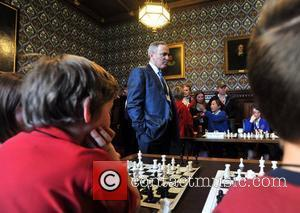 Garry Kasparov Celebration of the first birthday of the Chess in Schools and Communities project held at the House of...