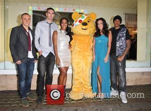 Alexandra Burke, Chipmunk, Kevin Pietersen and Tamara Ecclestone