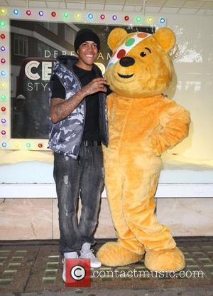 Chipmunk celebrates the launch of his fashion range for the BBC Children in Need Celebrity Style challenge at Debenhams...