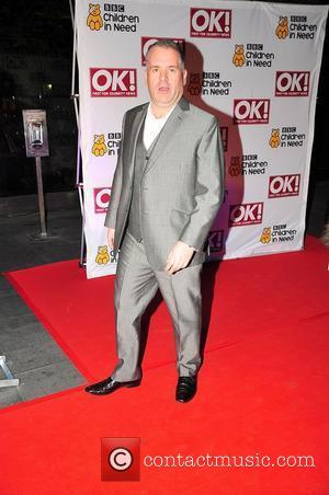 Chris Moyles BBC Children in Need dinner - Arrivals Manchester, England - 16.11.11