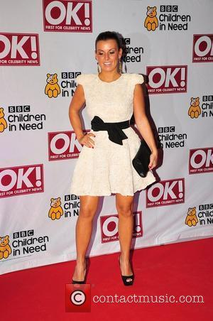 Coleen Rooney BBC Children in Need dinner - Arrivals Manchester, England - 16.11.11