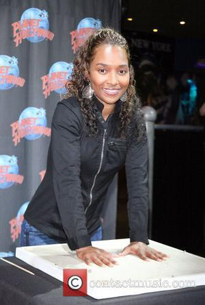 Rozonda 'Chilli' Thomas promotes the New Season of her Hit VH1 series What Chilli Wants with a handprint ceremony at...