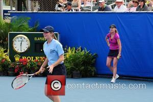 Chris Evert at the Chris Evert/Raymond James Pro-Celebrity Tennis Classic at Delray Beach Tennis Center. Delray Beach, Florida - 13.11.11