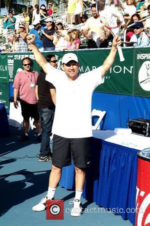 Christian Slater at the Chris Evert/Raymond James Pro-Celebrity Tennis Classic at Delray Beach Tennis Center. Delray Beach, Florida - 13.11.11
