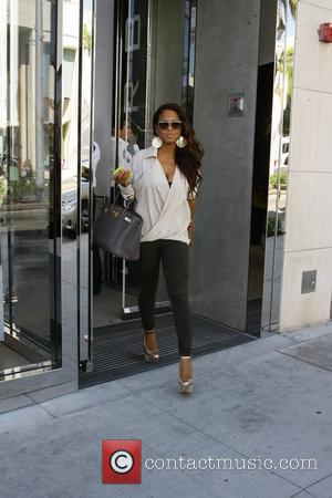 Christina Milian out shopping on Rodeo Drive Los Angeles, California - 18.10.11