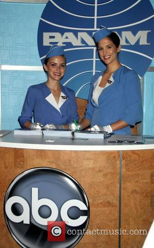Stewardesses of ABC's 'Pan Am' Christina Ricci appears on ABC's 'Good Morning America' to promote her new show, 'Pan Am'...