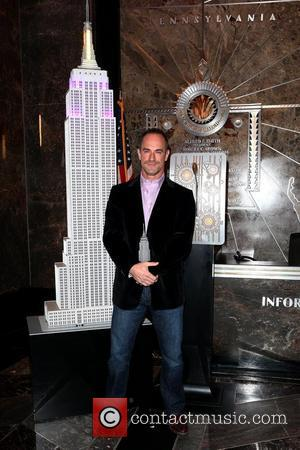 Christopher Meloni lights up the Empire State Building in honour of the 'Only Make Believe' organization New York City, USA...