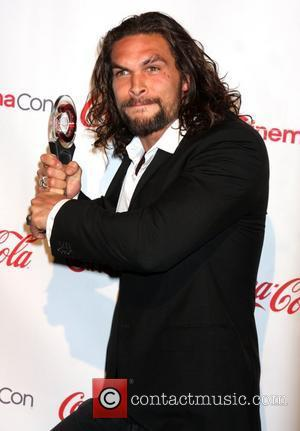 Jason Momoa CinemaCon 2011 Big Screen Achievement Awards held at Caesars Palace Resort and Casino - Press Room Las Vegas,...