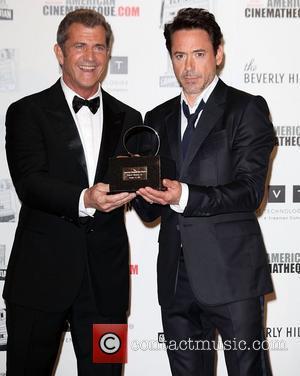 Mel Gibson, Robert Downey Jr, Beverly Hilton Hotel