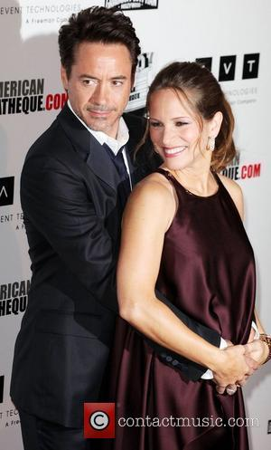 Robert Downey Jr and Beverly Hilton Hotel