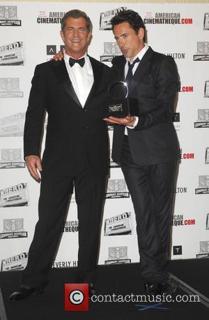Robert Downey Jr, Mel Gibson and Beverly Hilton Hotel