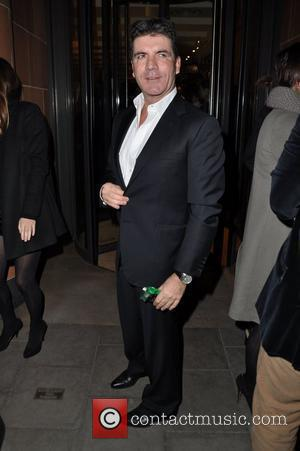 Simon Cowell arriving at C restaurant London, England - 19.03.11