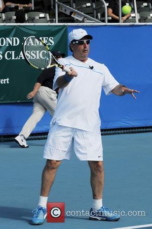 Jon Lovitz The Chris Evert/Raymond James Pro-Celebrity Tennis Classic Pro-Am at the Delray Tennis Center in Delray Beach Florida, USA...