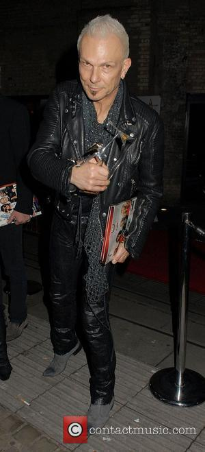 Rudolf Schenker ,  'Classic Rock Roll Of Honour' at the Roundhouse - Departures London, England - 09.11.11