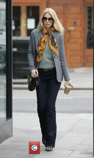 Claudia Schiffer  out and about in Notting Hill London, England - 02.03.11