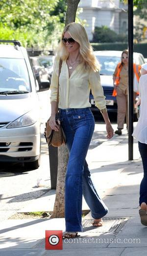 Claudia Schiffer after dropping her children off at school London, England - 27.06.11