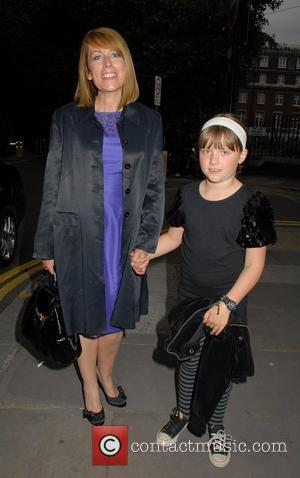 Fay Ripley,  at the Northern Ballet's press night of 'Cleopatra' at Saddlers Wells Theatre - Arrivals  London, England...
