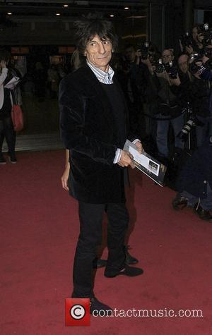 Ronnie Wood  at the Northern Ballet's press night of 'Cleopatra' at Saddlers Wells Theatre - Arrivals London, England -...