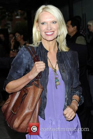 Anneka Rice at the Northern Ballet's press night of 'Cleopatra' at Saddlers Wells Theatre - Red Carpet London, England -...