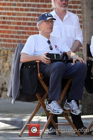 Clint Eastwood on the set of his new film 'J. Edgar' Los Angeles, California - 11.02.11