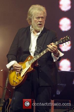 Randy Bachman  performs on stage at the 29th Annual Canadian Music and Broadcast Industry Awards held at the Fairmont...