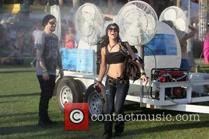 Bam Margera and guest Celebrities at the 2011 Coachella Valley Music and Arts Festival - Day 1 Indio, California -...