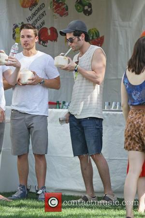 Penn Badgley and Shawn Pyfrom
