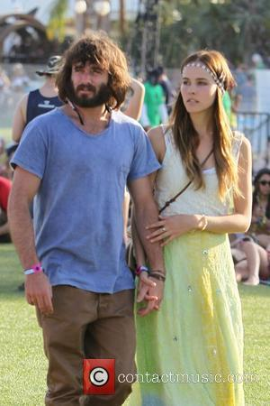 Lukas Hass and Isabel Lucas Celebrities at the 2011 Coachella Valley Music and Arts Festival - Day 2 Indio, California...