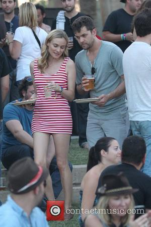 Joshua Jackson and Diane Kruger Celebrities at the 2011 Coachella Valley Music and Arts Festival - Day 3 Indio, California...