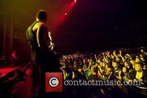Devil Driver performing live at Coliseu dos Recreios. Lisbon, Portugal - 17.12.11