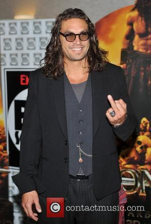 Jason Momoa Conan the Barbarian European premiere held at the O2 Arena - Arrivals. London, England - 14.08.11