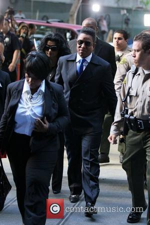 Halima Rashid and Jermaine Jackson arrive at Los Angeles Superior Court on day 5 of the Conrad Murray involuntary manslaughter...