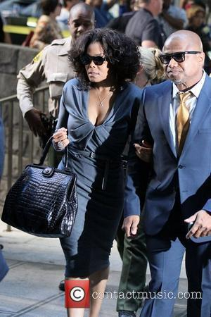Janet Jackson and Randy Jackson arrive at Los Angeles Superior Court on day 5 of the Conrad Murray involuntary manslaughter...