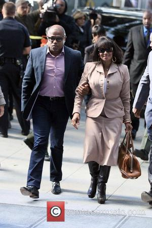 Randy Jackson and Rebbie Jackson  arrive at Los Angeles Superior Court on day 8 of the Conrad Murray involuntary...