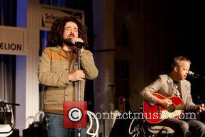 Adam Duritz of Counting Crows performing Cool Comedy - Hot Cuisine Fundraiser Gala held at the Palace Hotel San Francisco,...