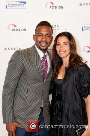 Bill Bellamy, Kristen Bellamy Cool Comedy - Hot Cuisine Fundraiser Gala held at the Palace Hotel San Francisco, California -...